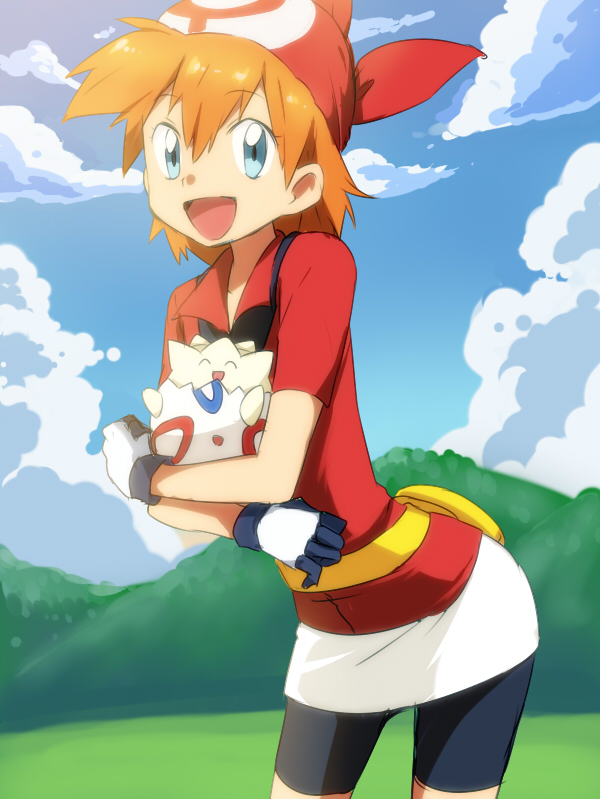 Tags: Anime, Punchiki, Pokémon, Kasumi (Pokémon), Togepi, Haruka (Pokémon) (Cosplay)