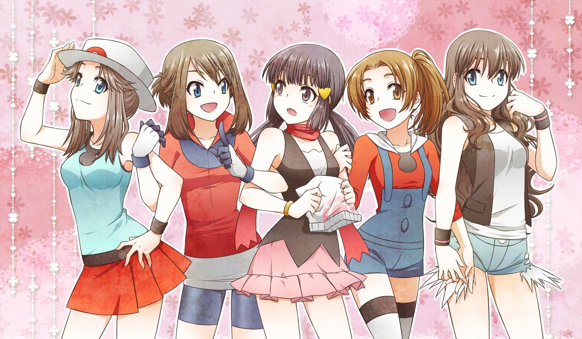 Anime pokemon girls Cute