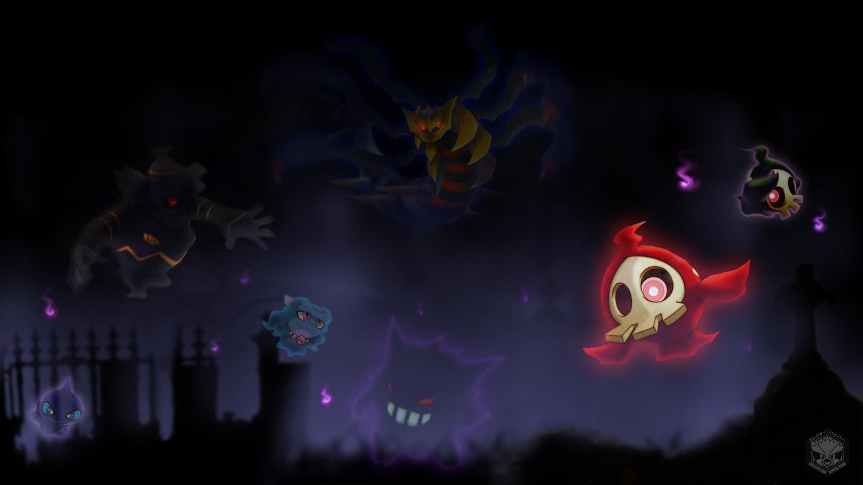 Pok mon 869768 zerochan - Pokemon ghost wallpaper ...