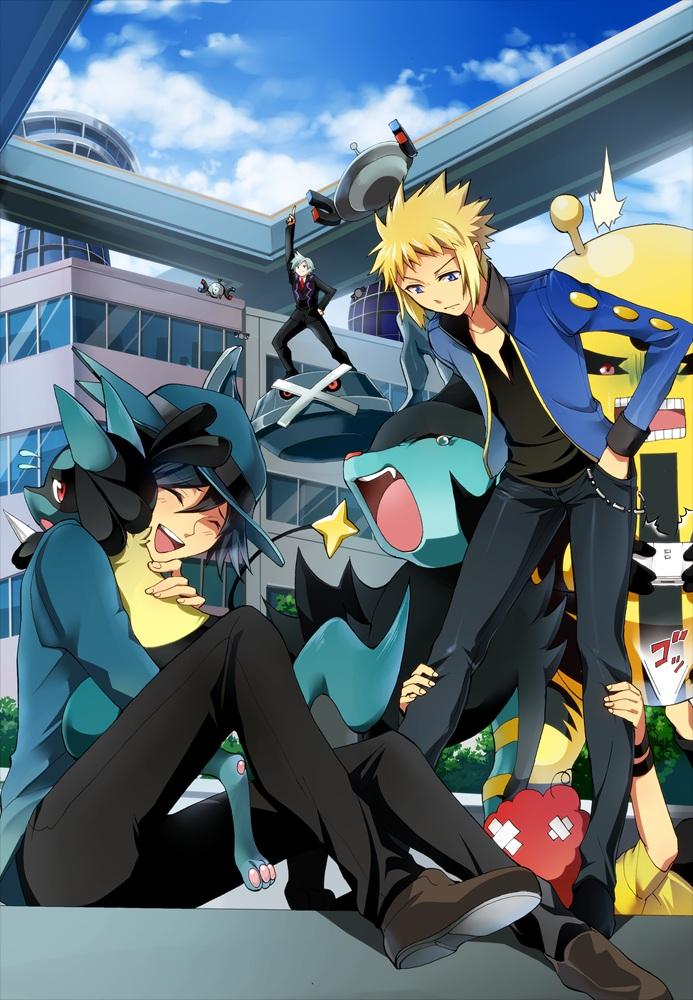 Pokemon Steven And Riley Pokémon (Guardian...