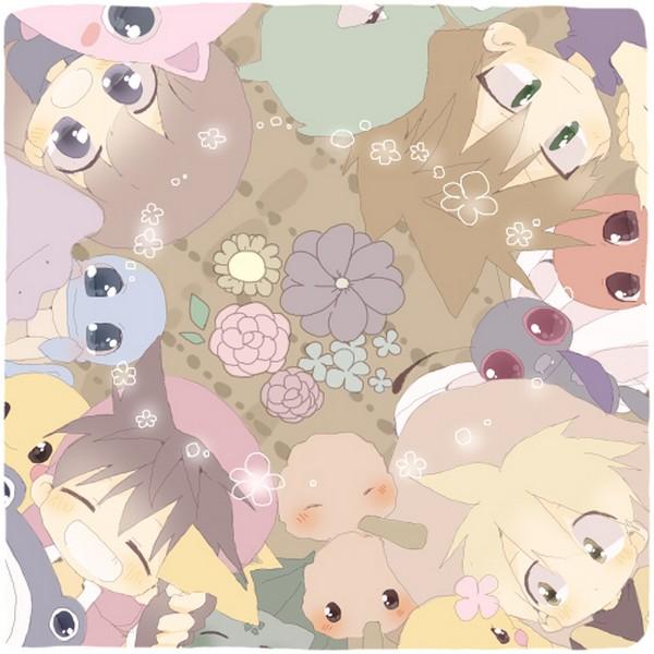 Tags: Anime, Pokémon SPECIAL, Pokémon, Dodosuke, Charmander, Doduo, Green (Pokémon), Piisuke (Pokémon), Squirtle, Poliwhirl, Leaf (Pokémon), Scyther, Yellow (Pokémon Special)