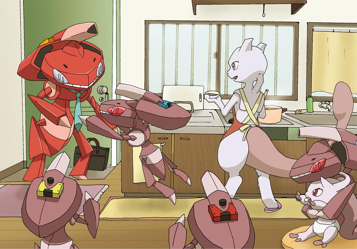 Pokemon The Movie Genesect And The Legend Awakened Zerochan