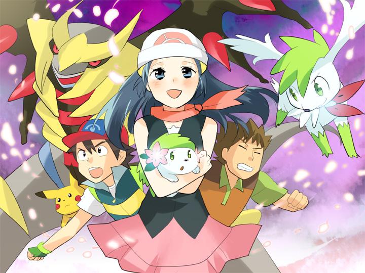 Pokemon The Movie Giratina And The Sky Warrior Image 642281