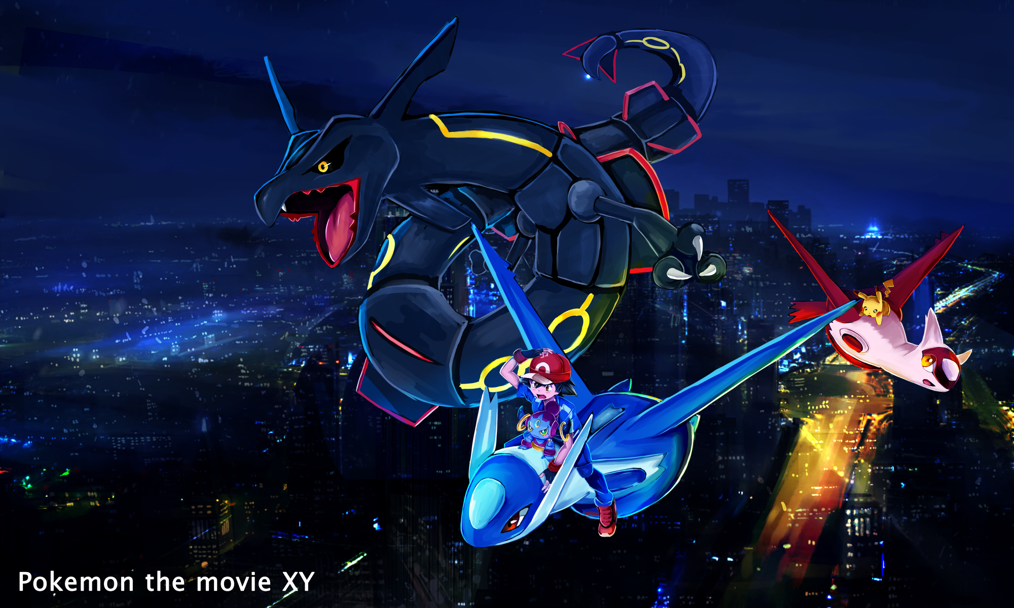 Pokemon The Movie Hoopa And The Clash Of Ages Wallpaper 1906450