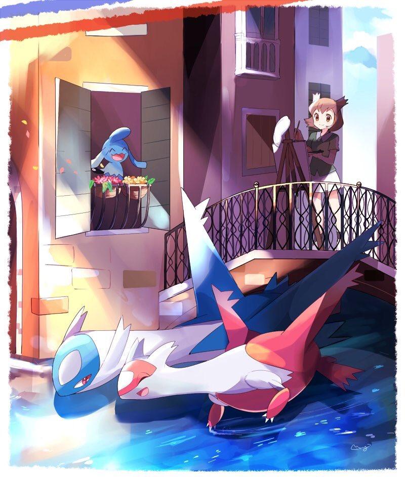 Pokemon movie latios latias