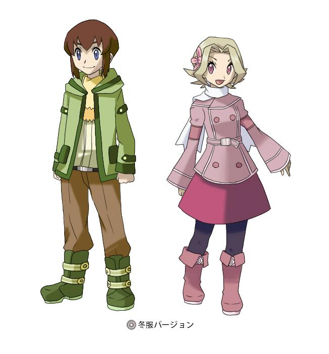 Tags: Anime, Pixiv Id 424771, Pokémon (Anime), Pokémon the Movie: Voice of the Forest, Pokémon, Ookido Yukinari, Kikuko (Pokémon), Pixiv, Fanart, Fanart From Pixiv