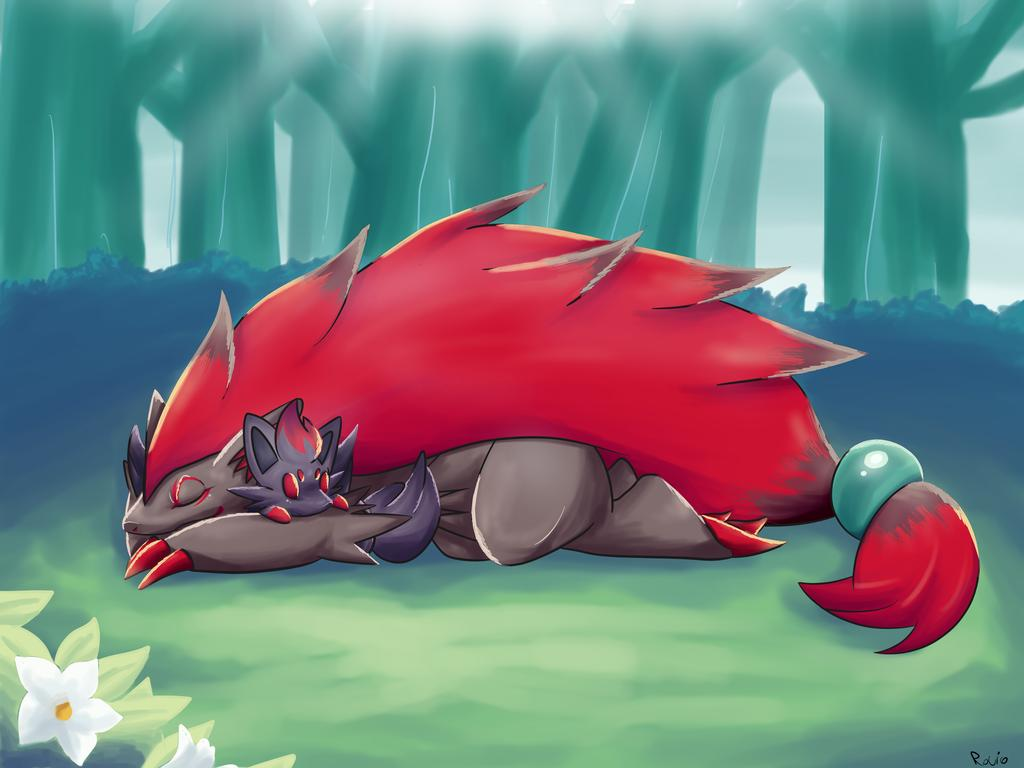 Pokémon The Movie Zoroark Master Of Illusions Wallpaper 434935