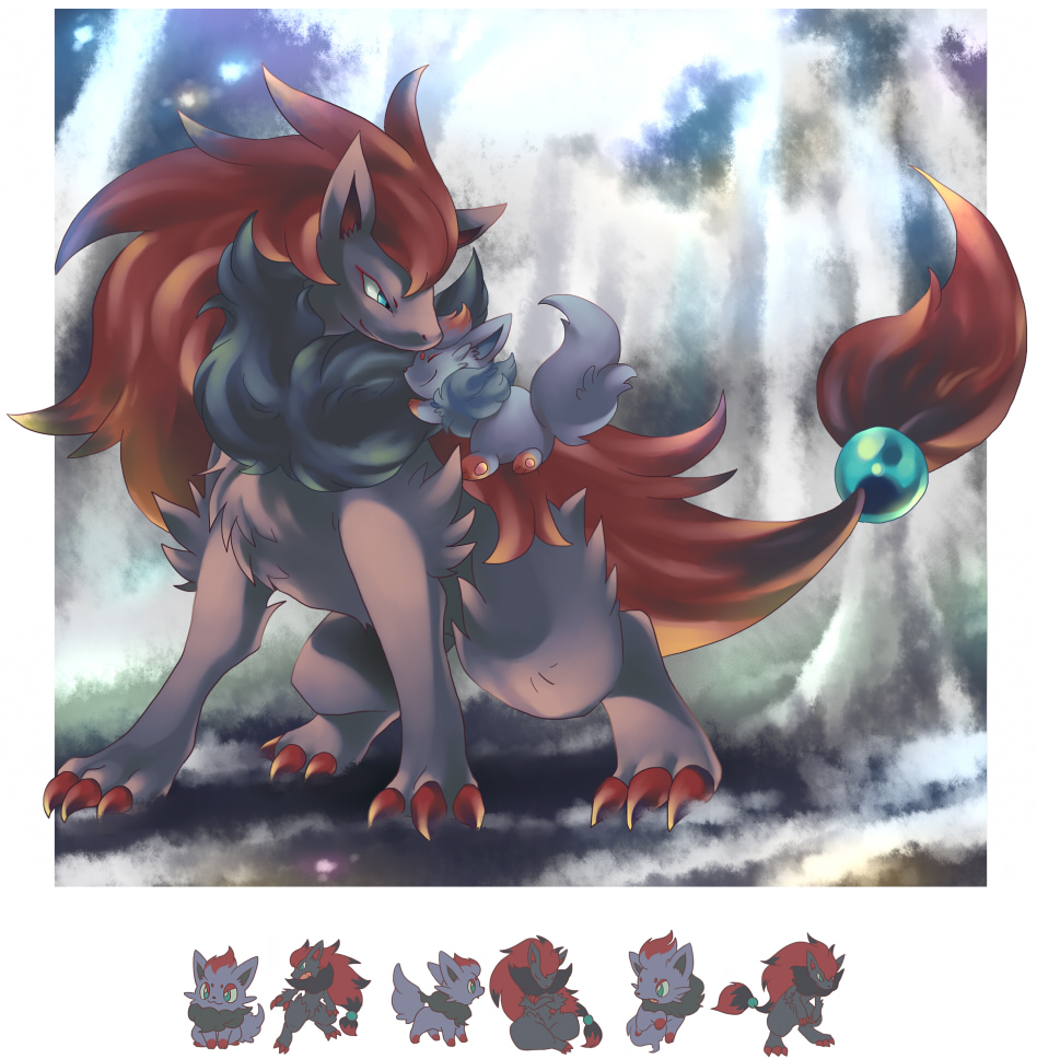 Pokémon The Movie Zoroark Master Of Illusions Zerochan Anime