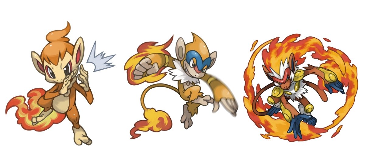 what level does monferno evolve at
