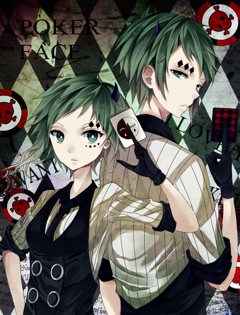 Poker Face Image 1839619 Zerochan Anime Image Board