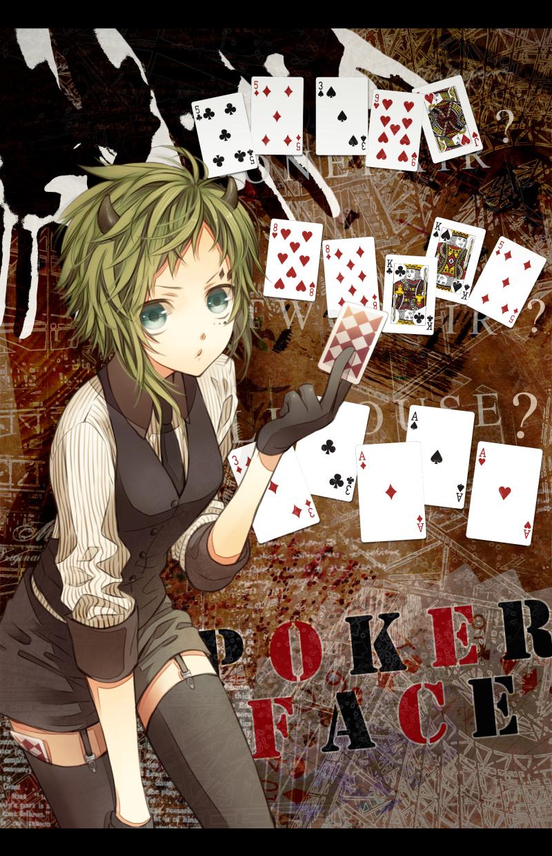 Poker Face - Zerochan Anime Image Board