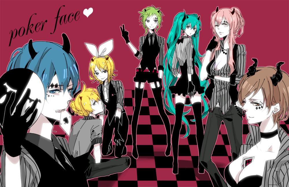 Poker Face Image 401671 Zerochan Anime Image Board