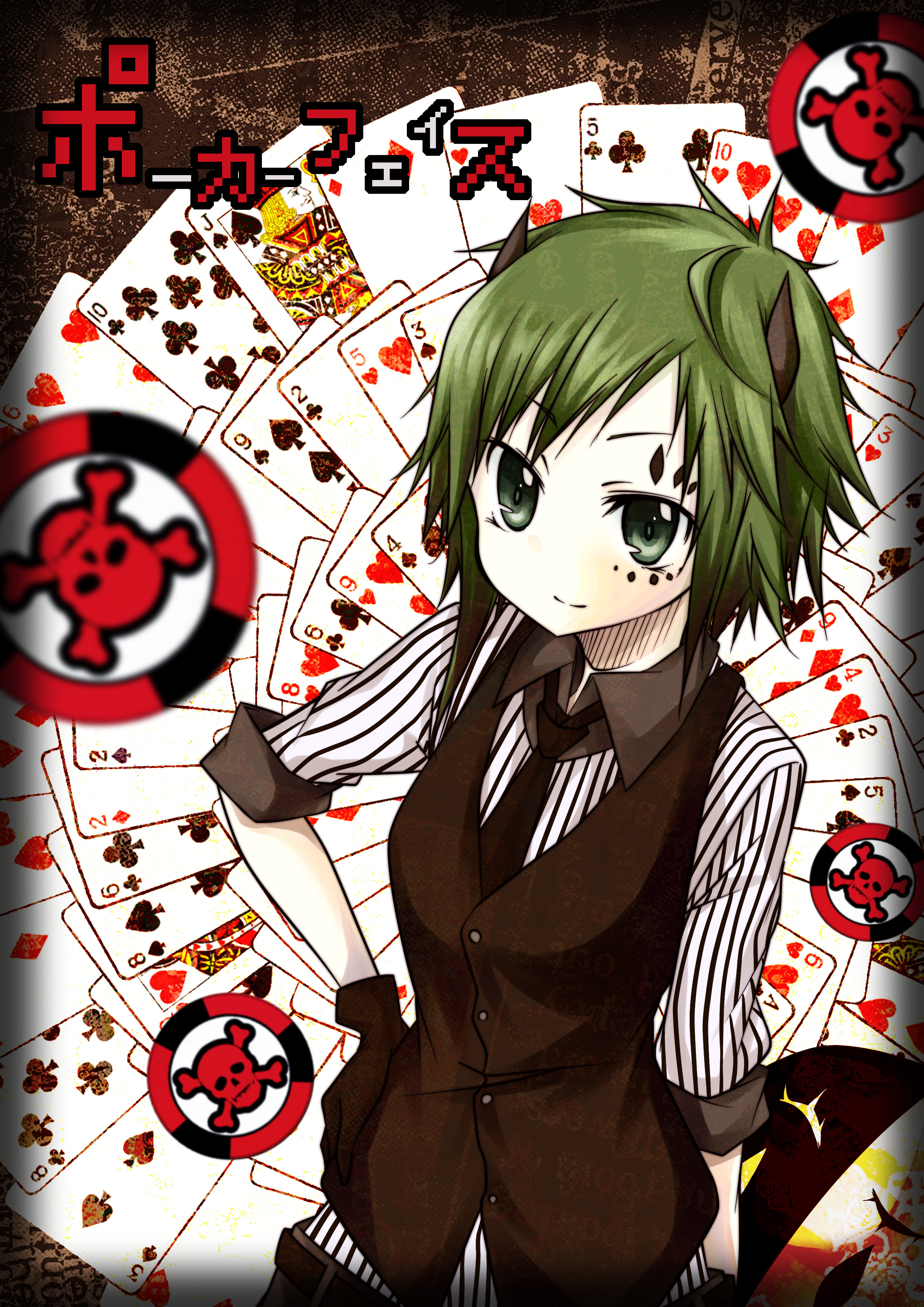 Poker Face | page 6 of 10 - Zerochan Anime Image Board