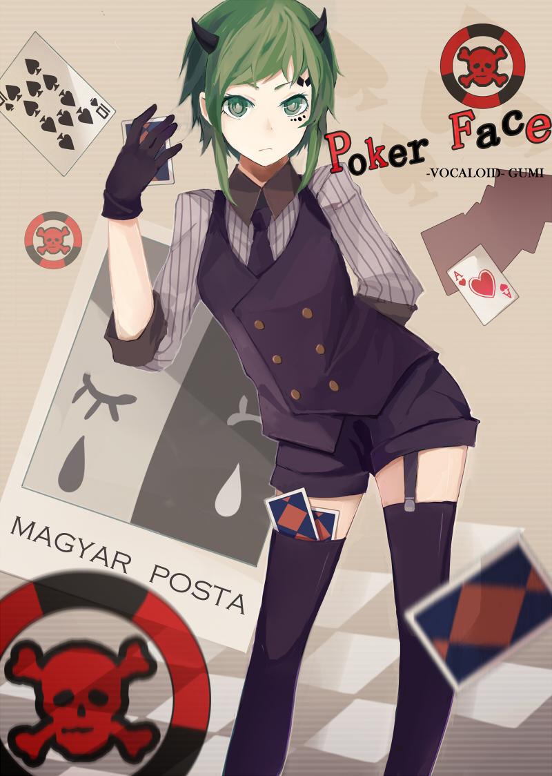 Vocaloid poker face lyrics roulette machine tricks