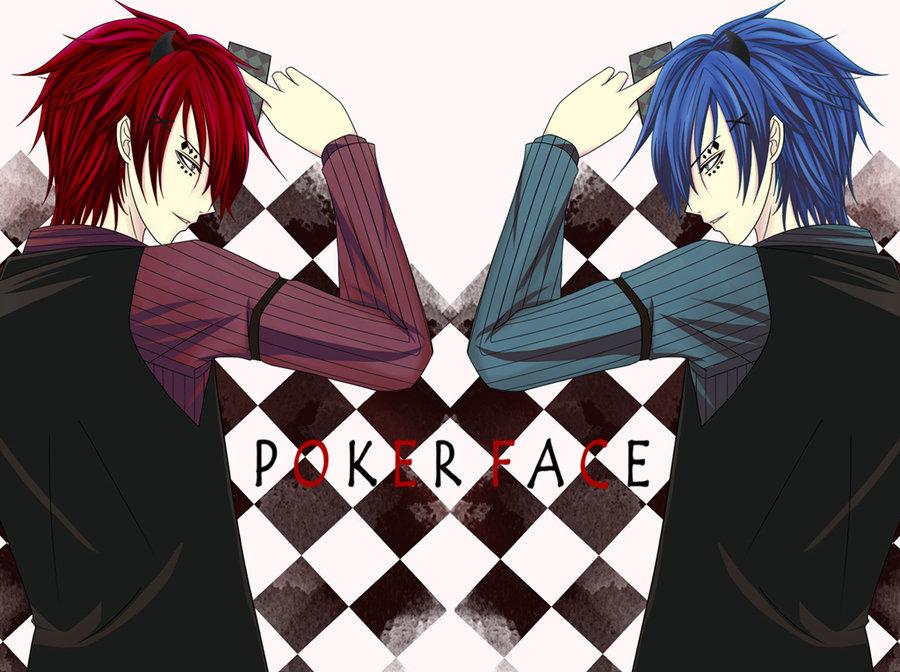 Poker Face Image 961698 Zerochan Anime Image Board