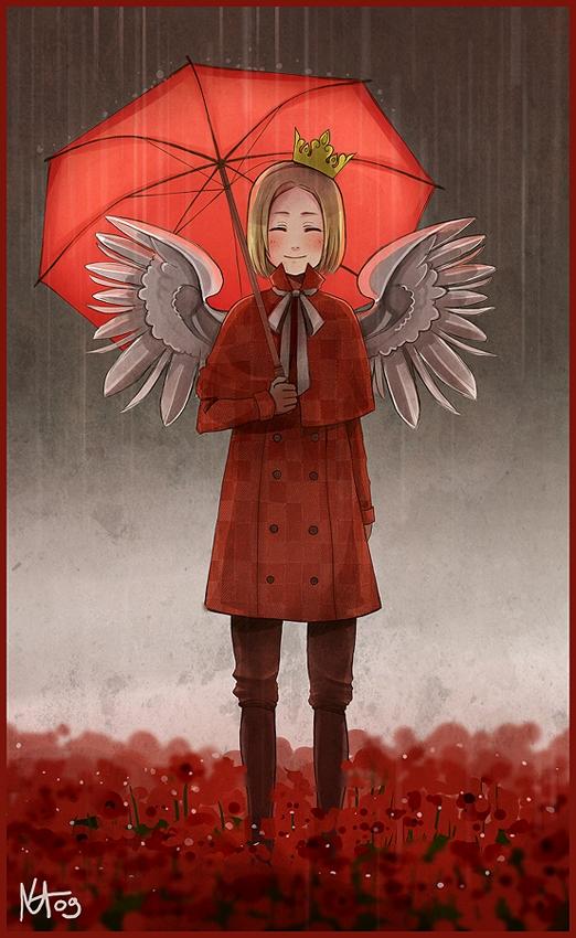 Tags: Anime, radittz, Axis Powers: Hetalia, Poland, Poppy, Mobile Wallpaper