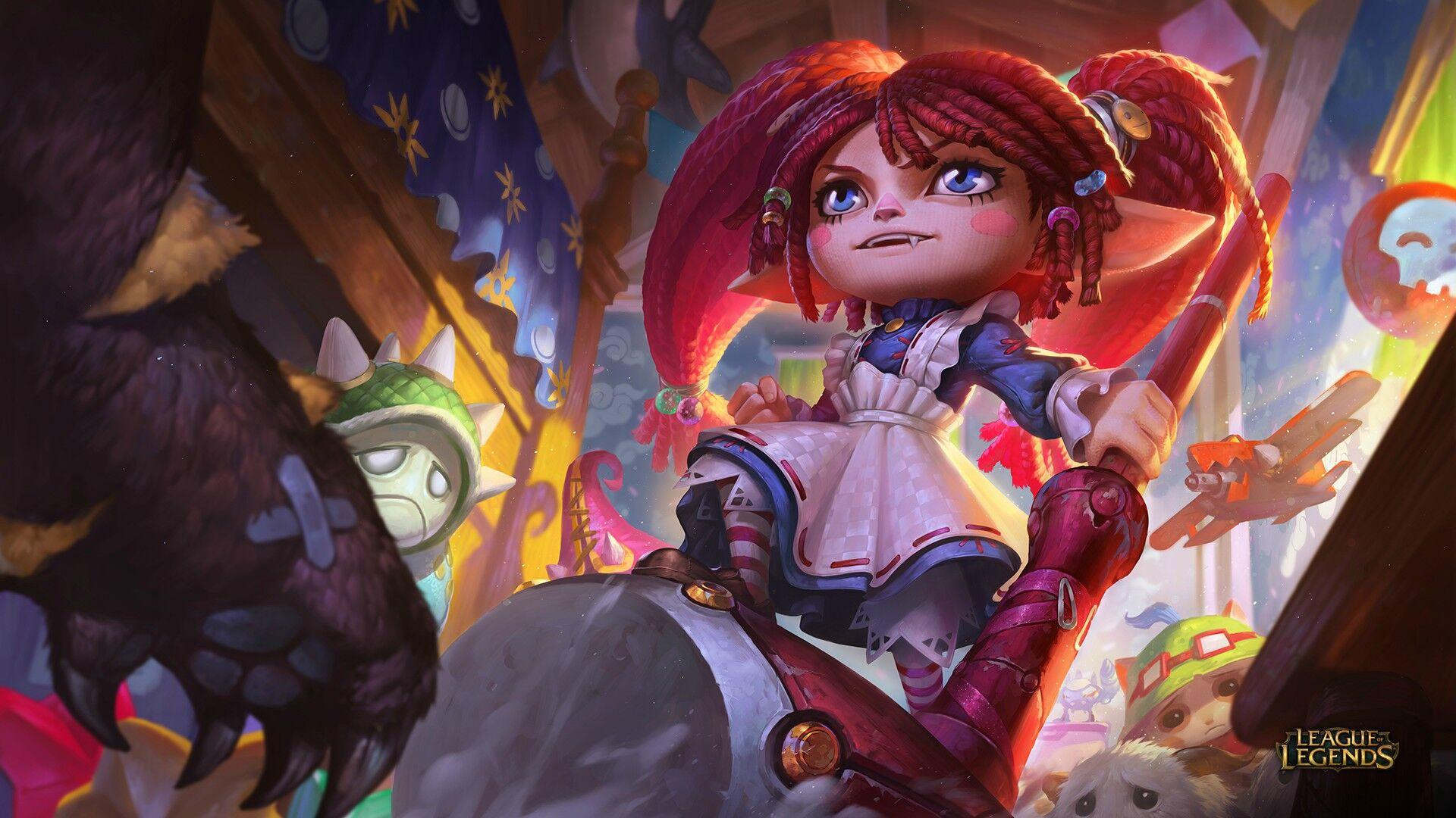 Poppy League Of Legends Wallpaper 2090338 Zerochan Anime