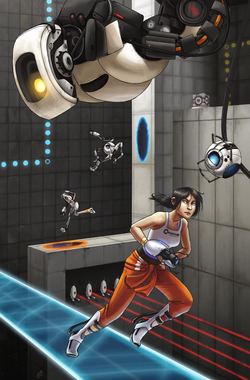Portal Gun Portal Game Zerochan Anime Image Board