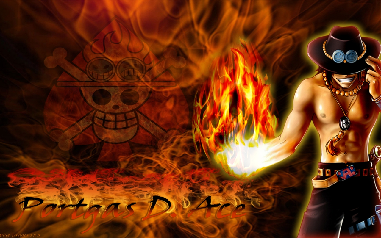 Tags Anime ONE PIECE Portgas D Ace Wallpaper Fanmade