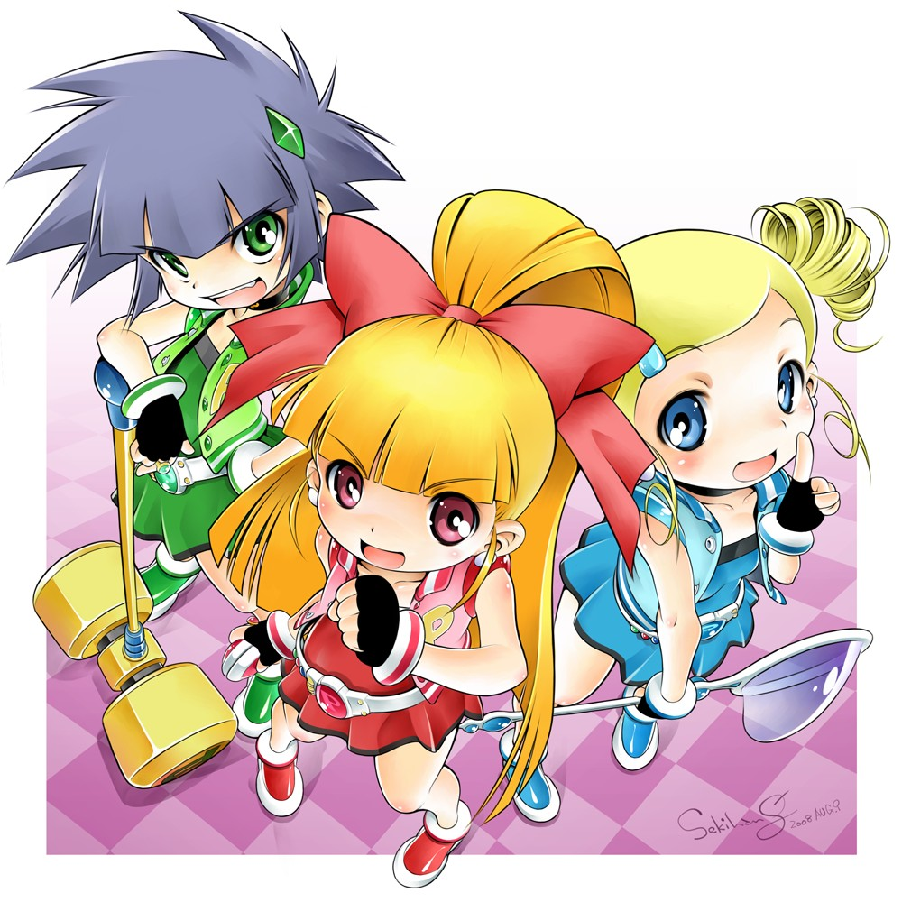 power puff girls z zerochan anime image board