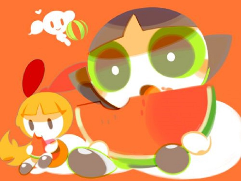 Tags: Anime, Mintchoco, Power Puff Girls, Buttercup (PPG), Blossom
