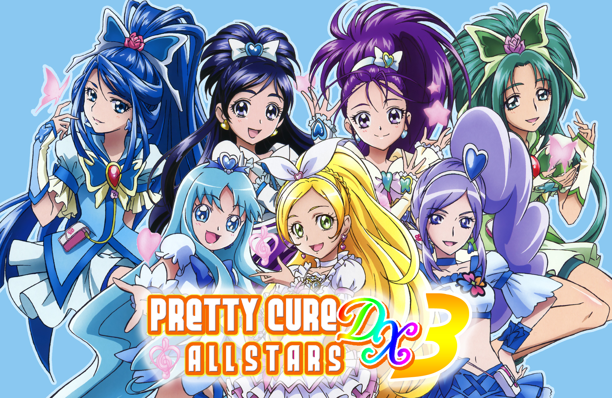 Precure All Stars #Precure   プリキュア イラスト, プリキュア 漫画, シンフォギア
