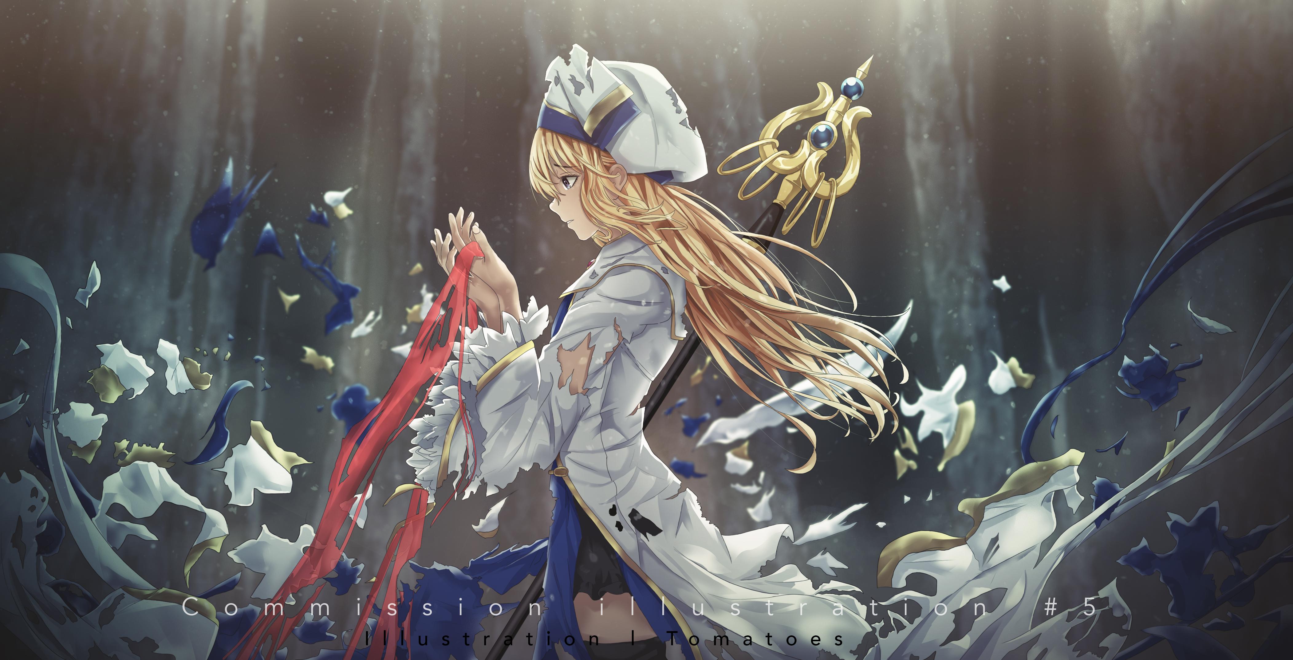 Priestess Goblin Slayer Zerochan Anime Image Board