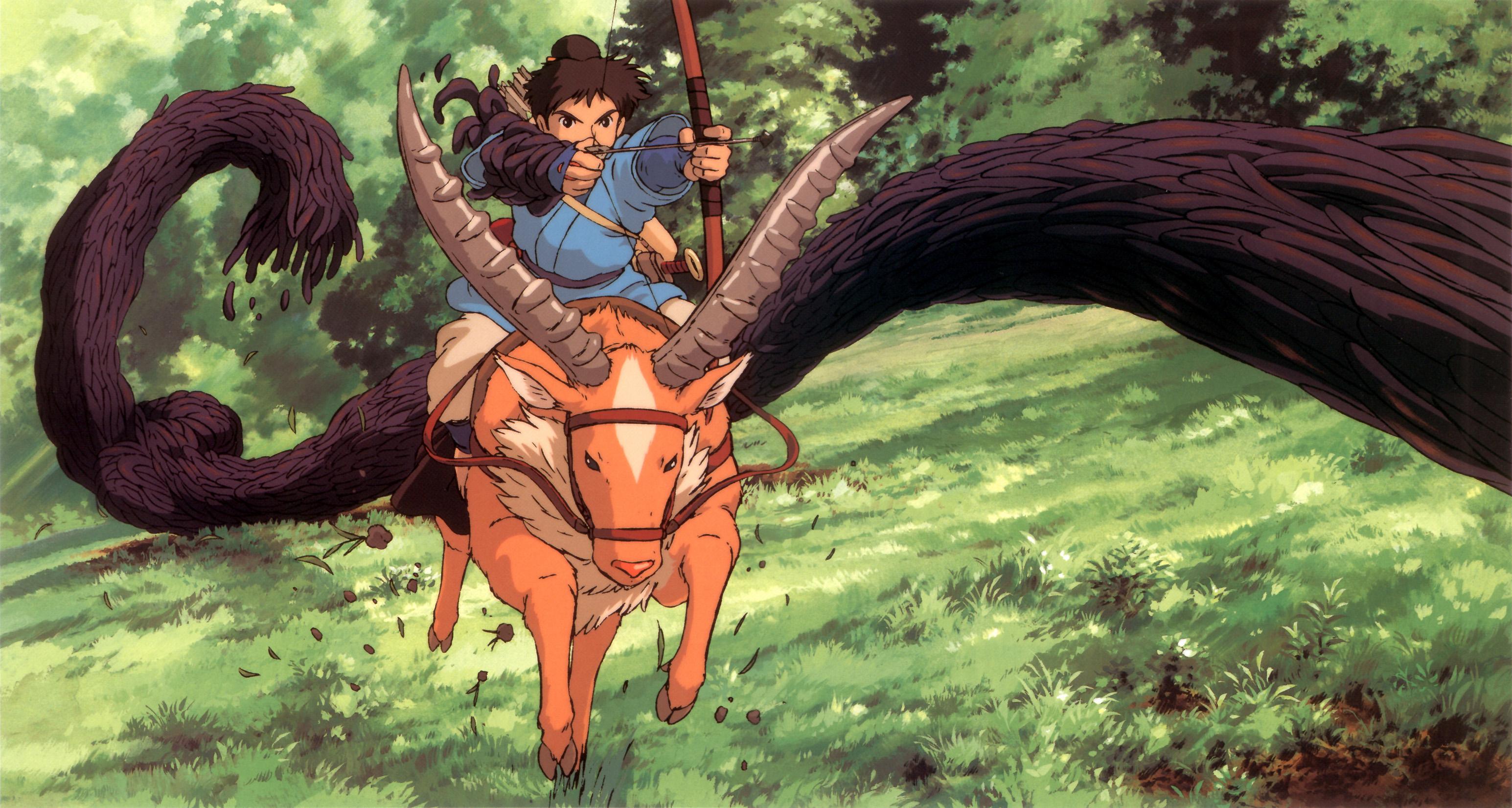 Prince Ashitaka - Mononoke Hime - Image #543421 - Zerochan ...