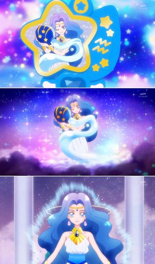 Tags: Anime, Star☆Twinkle Precure, Princess Aquarius, Zodiac (Personification), Screenshot