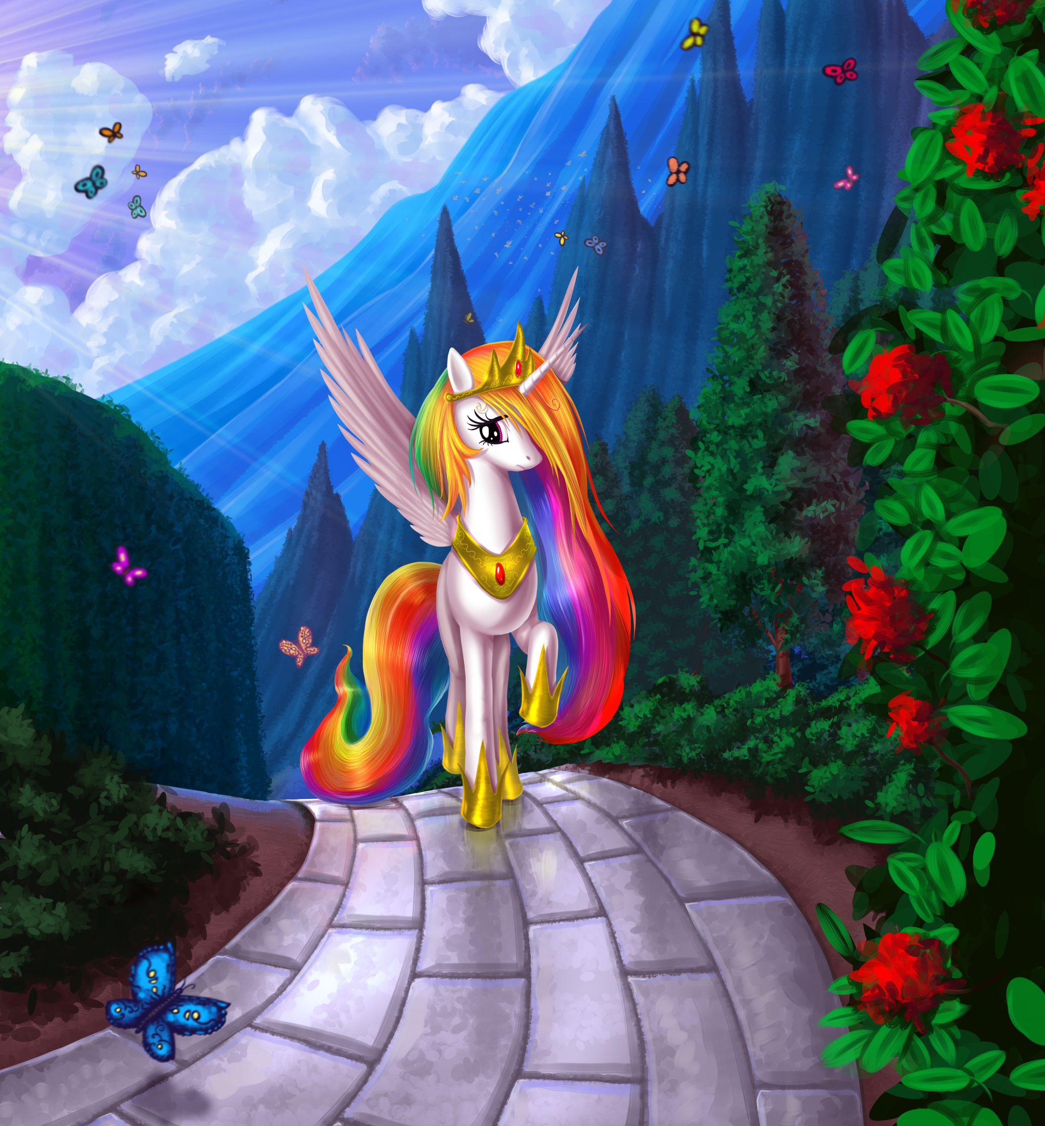 Princess Celestia - My Little Pony - Zerochan Anime Image ...