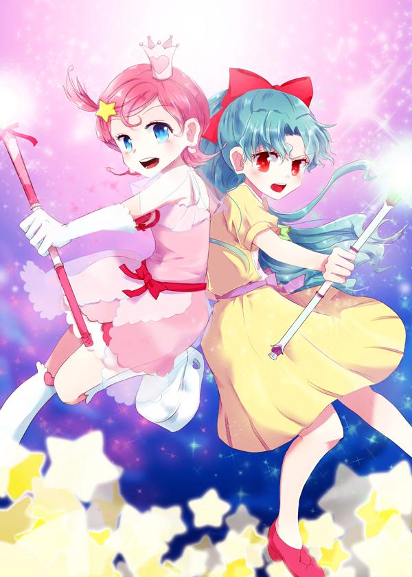 Tags: Anime, Tol (Artist), Princess Comet, Meteor (Princess Comet), Comet (Princess Comet), Fanart From Pixiv, Pixiv, Fanart