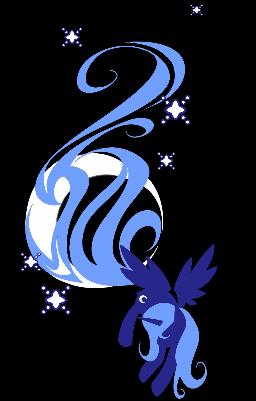 Princess luna my little pony zerochan anime image board - Princess luna screensaver ...