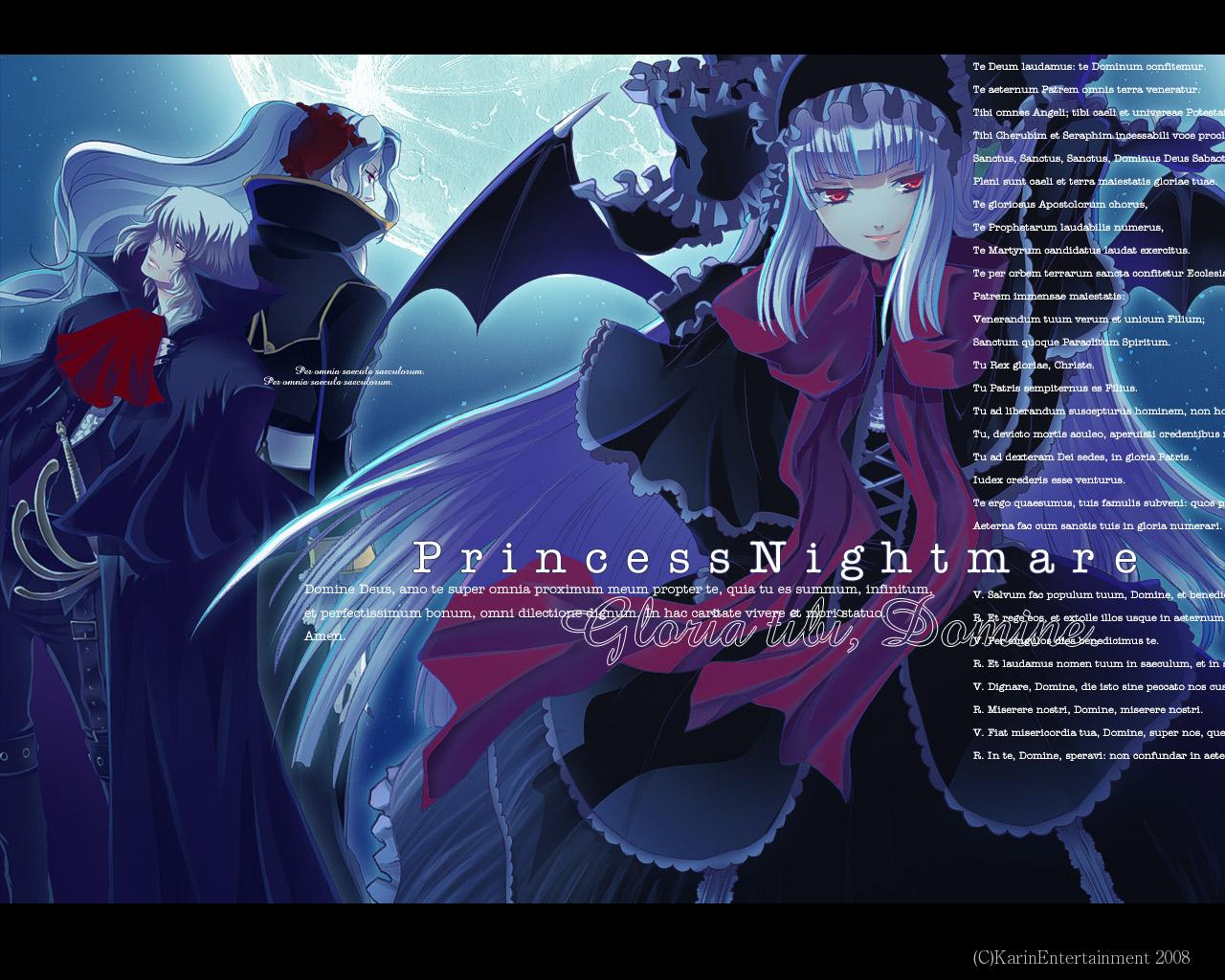 Tags: Anime, Princess Nightmare, Vlad Tepes (Princess Nightmare), Wallpaper