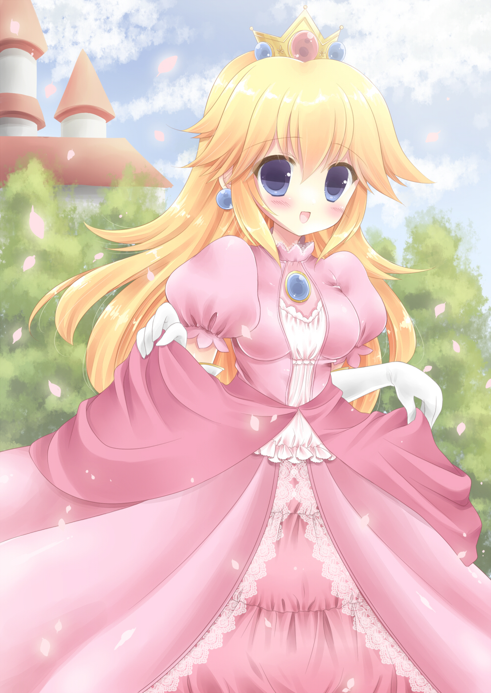 filter:Princess Peach, Fanart