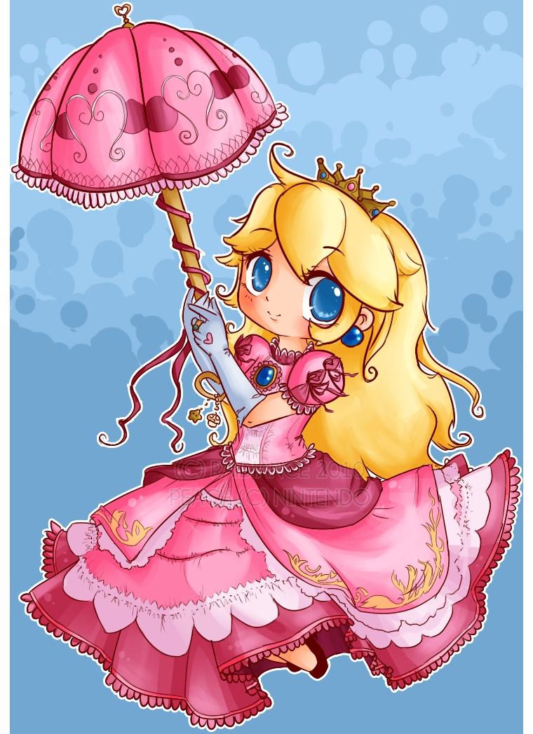 princess peach - super mario bros