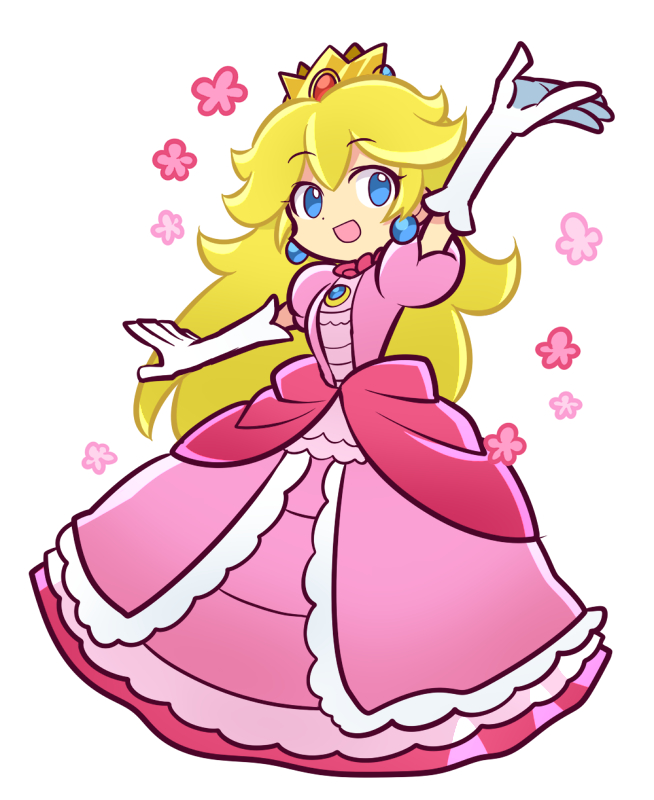 Tags: Anime, Pixiv Id 681922, Super Mario Bros., Princess Peach, Fanart From Pixiv, Fanart, PNG Conversion, Pixiv