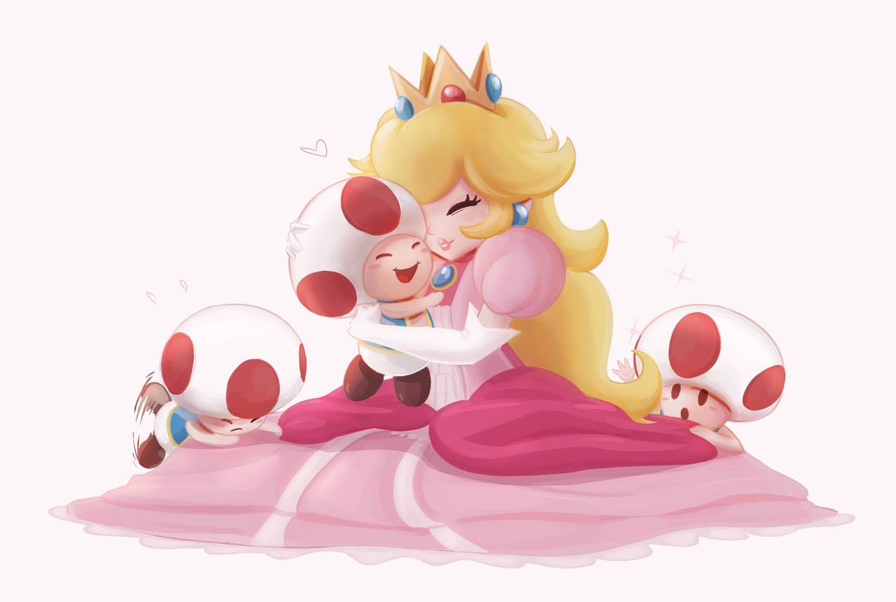 Princess Peach Super Mario Bros Image 2540644 Zerochan