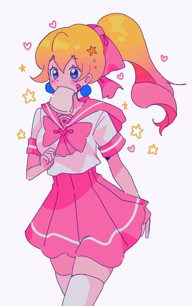 Tags: Anime, Meowniz, Super Mario Bros., Princess Peach