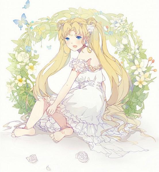 Tags: Anime, xiaohan6th, Bishoujo Senshi Sailor Moon, Princess Serenity, Tsukino Usagi, Moon (Symbol), Twin Buns
