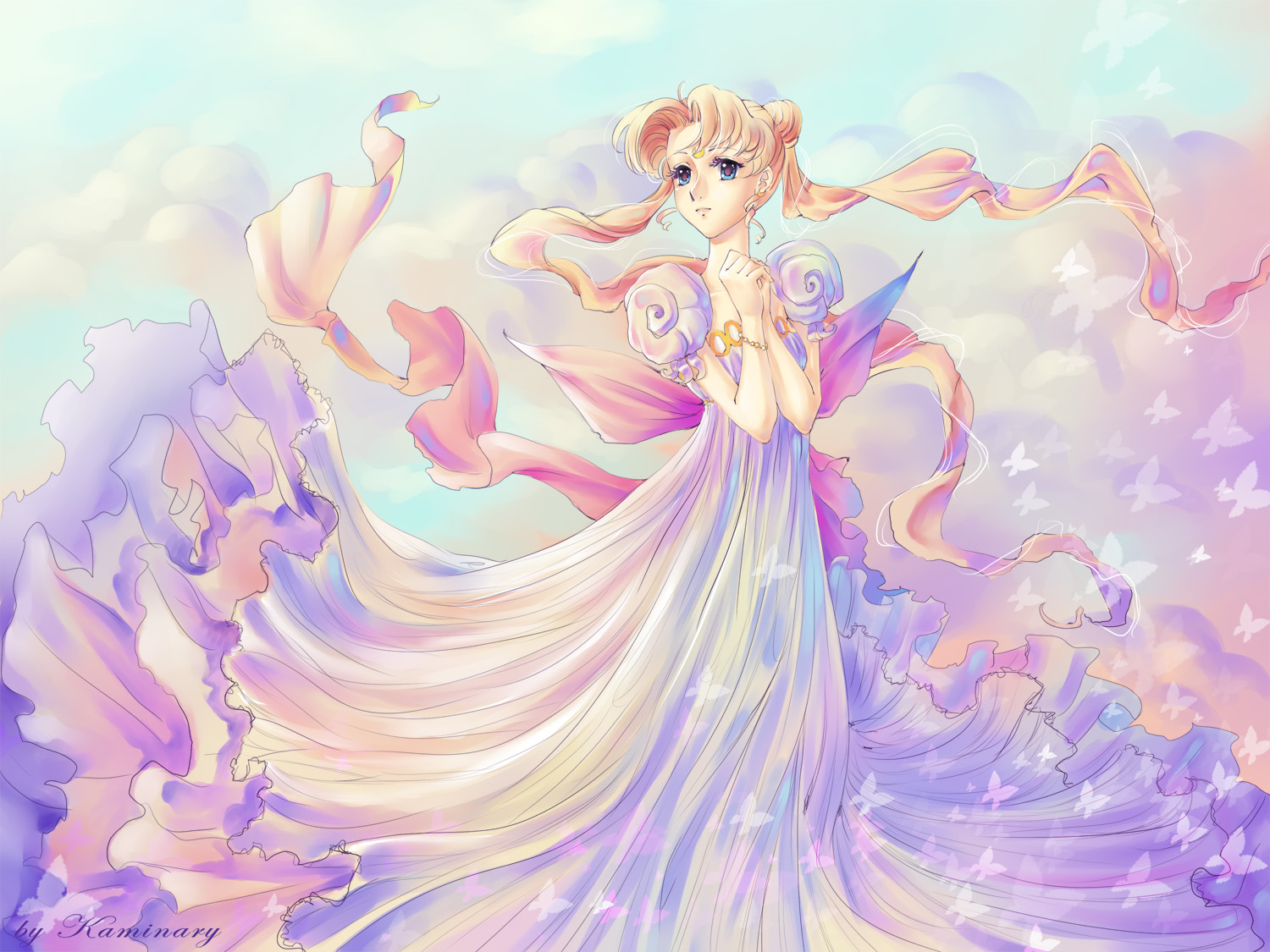 princess serenity, wallpaper - zerochan anime image board