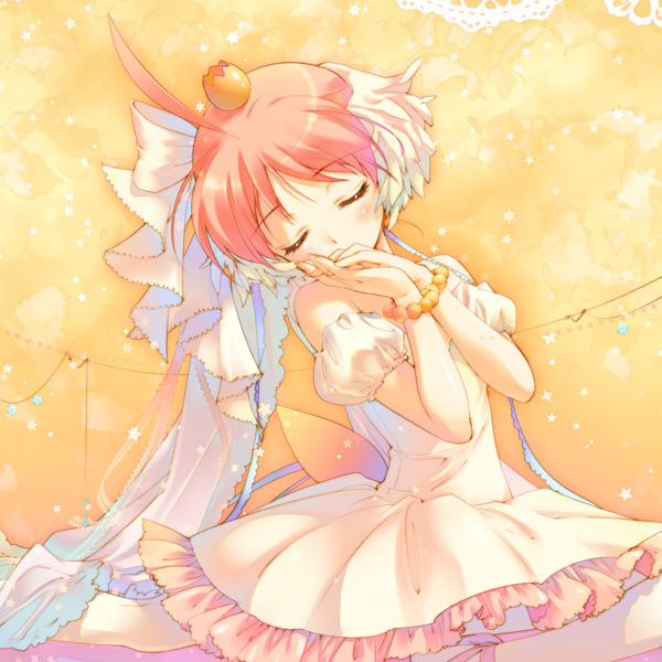 Tags: Anime, Santa Matsuri, Princess Tutu, Arima Ahiru, Princess Tutu (Character), Hand On Cheek, Ballerina Outfit