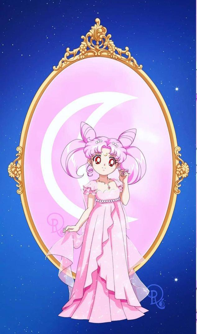 Tags: Anime, Drachea Rannak, Bishoujo Senshi Sailor Moon, Princess Usagi Small Lady Serenity, Chibiusa, Fanart