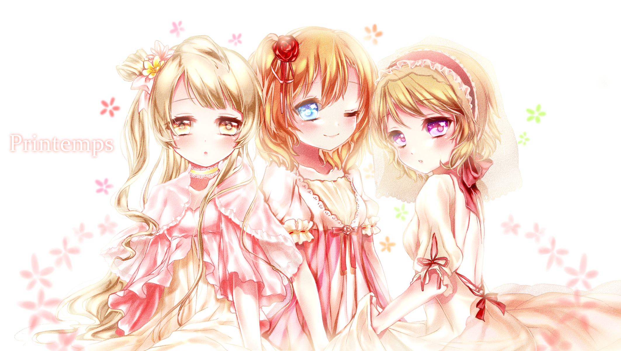 printemps love live zerochan anime image board
