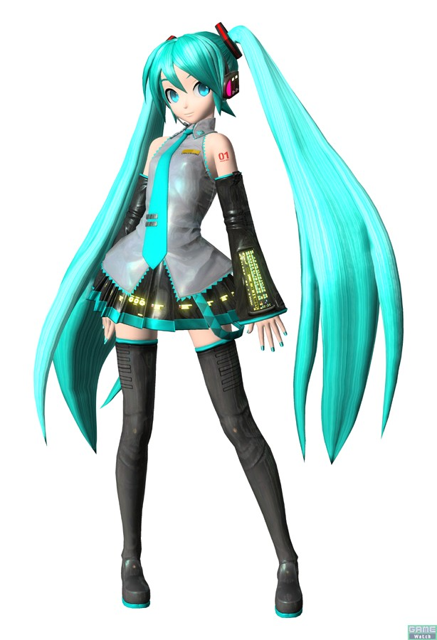 Tags: Anime, Hatsune Miku, Vocaloid, 3D, Project Diva 2nd