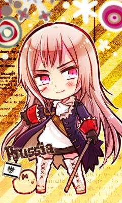 Tags: Anime, Himaruya Hidekaz, Axis Powers: Hetalia, Gilbird (Female), Gilbird, Prussia (Female), Mobile Wallpaper, Official Art, Nyotalia