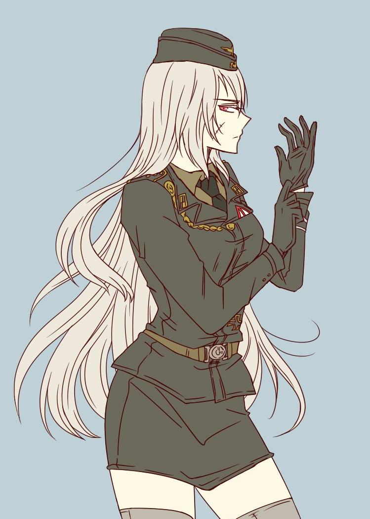 nazi anime girl