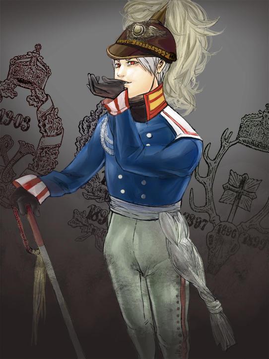 Tags: Anime, Monyaa, Axis Powers: Hetalia, Prussia, deviantART