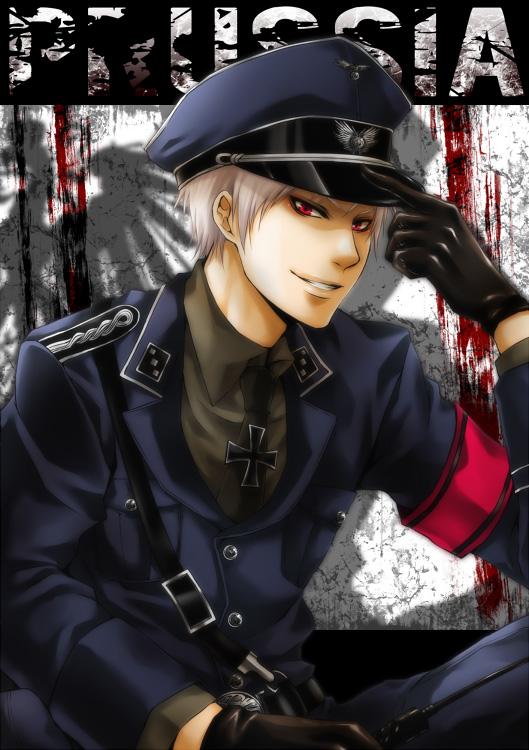 Tags: Anime, Pixiv Id 274209, Axis Powers: Hetalia, Prussia, Mobile Wallpaper, Fanart, Pixiv