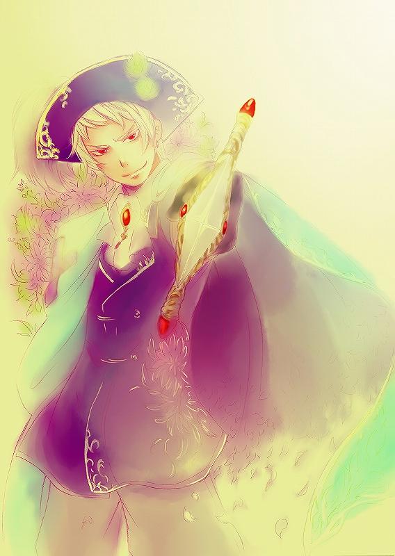 Tags: Anime, Ikko (Superb Pink), Axis Powers: Hetalia, Prussia, Mobile Wallpaper