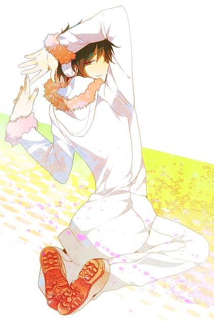 Tags: Anime, Kurobara, DURARARA!!, Psyche, Orihara Izaya, Psychedelic Dreams, Mobile Wallpaper, PNG Conversion